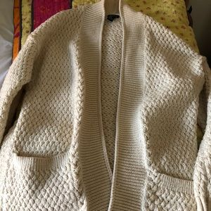 Forever 21 Chunky Woven Cardigan